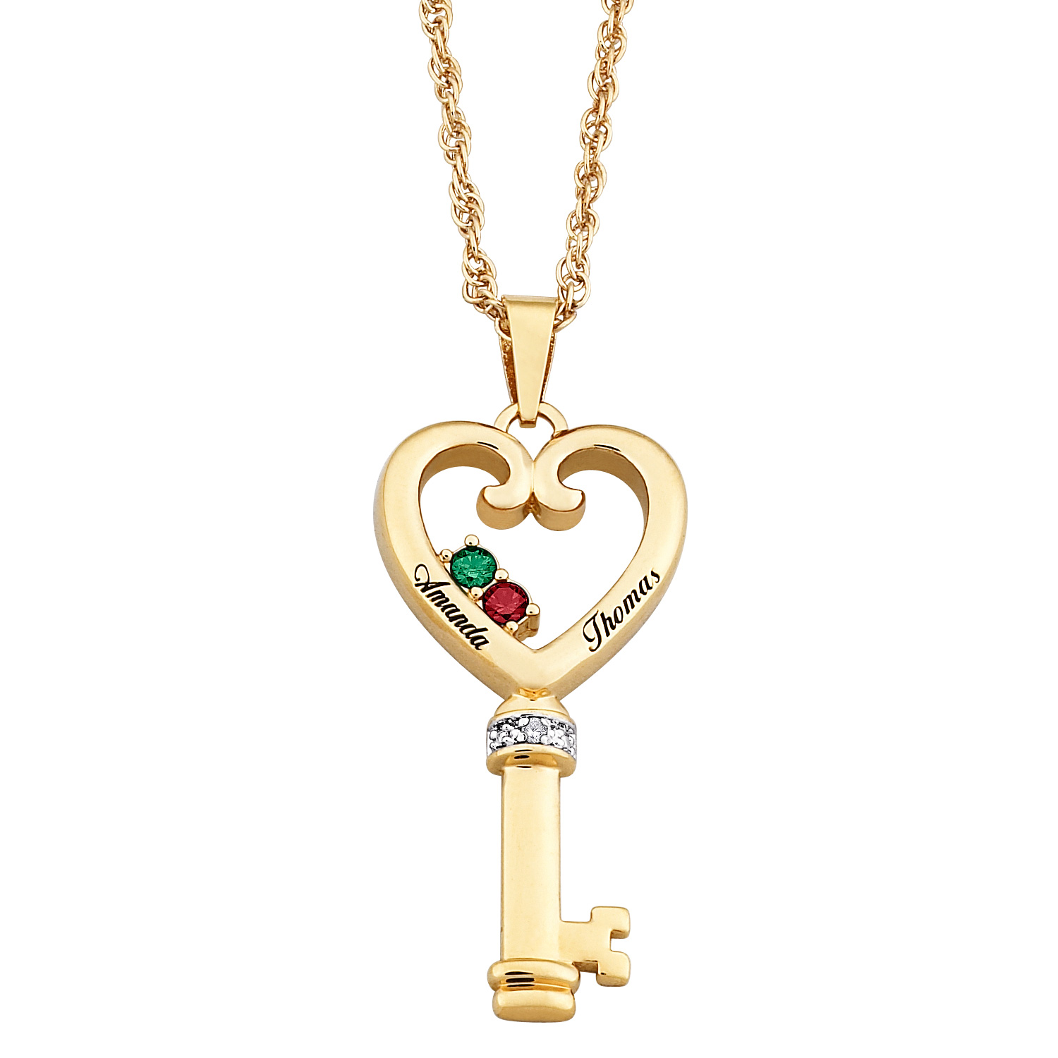 Valentines Gifts 2019 >      Key To My Heart Necklace, Key To My Heart Pendant