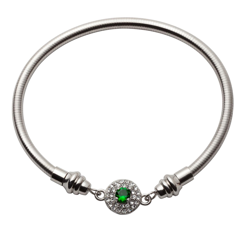 Stainless Steel Wire Birthstone Bracelet 41624 Limoges