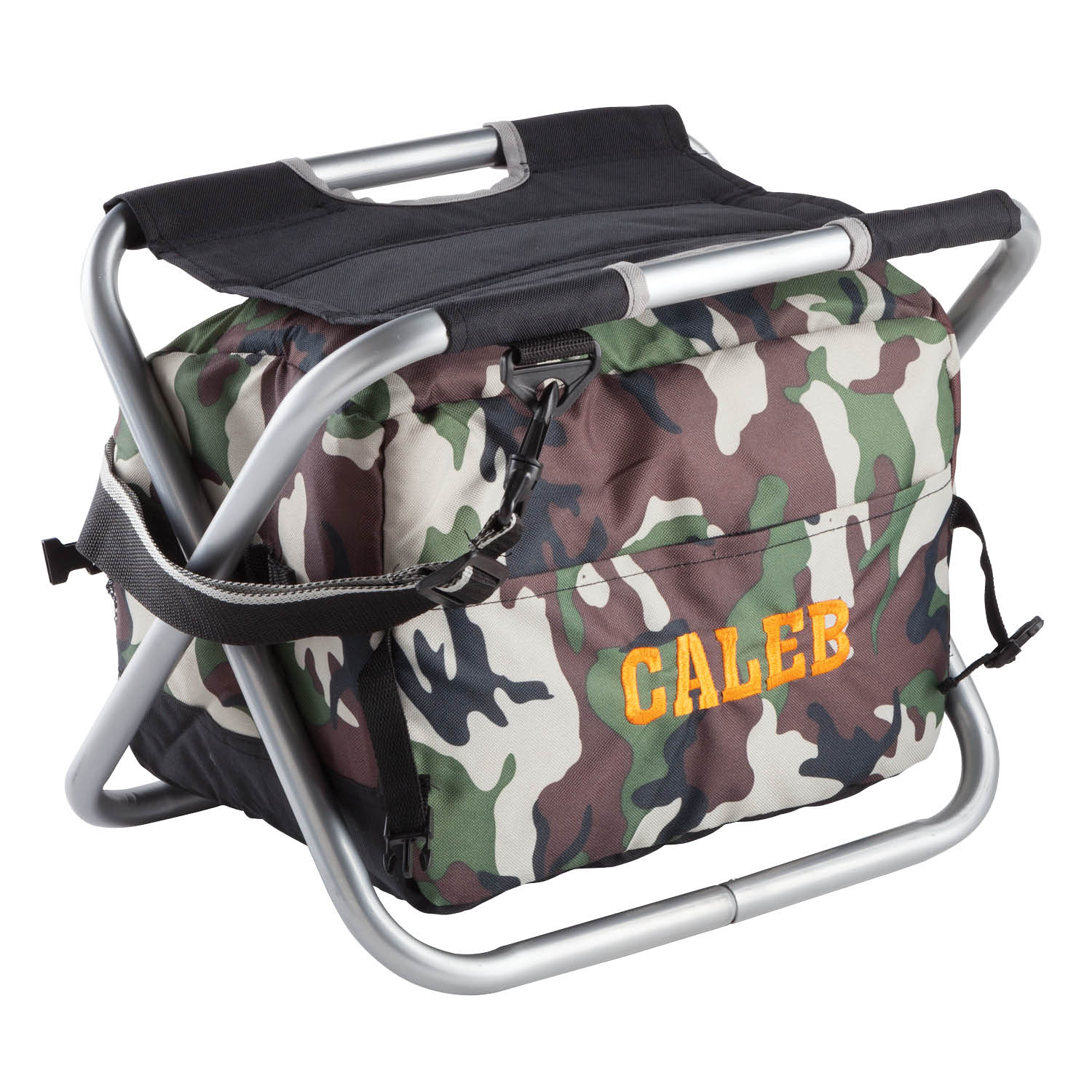 Personalized Camouflage Spectator Cooler Chair