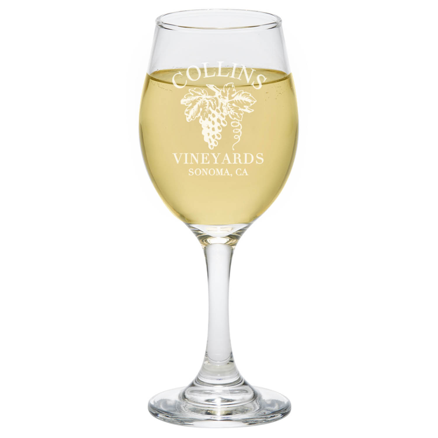 Set of 4 Personalized Wine Lovers Wine Glasses
